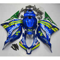 Dor Fairing Kits 2009 2012 injection mold CBR 600 RR 09 10 Kits blue CBR 600 RR Motorcycle Fairing 09 10 CBR 600 RR 2011