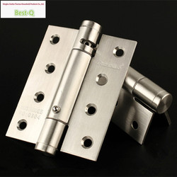 Free shipping 4-inch stainless steel spring hinge invisible door hinge invisible hinge door closers with automatic positioning