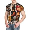 YM Cotton O-neck Women/Men's T Shirts Reggae Bob Marley 3D Printing Men T-shirts Casual Men T Shirt Hip Hop Summer Tops B25