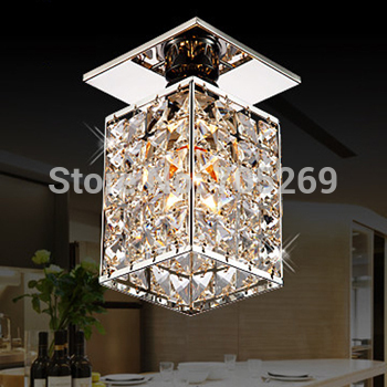 Ceiling light modern fashion crystal aisle lights entranceway lighting hallway lights living room lamps modern retro balcony entranceway aisle lights american brief iron single head christmas bells ceiling light free shipping