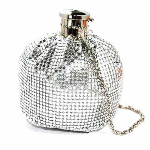 2016 Rushed Promotion Mini (<20cm) Femei Solid Mini Bottle Bag Tote Messenger Hip Flask Portofoliu de mână cu mânecă mică pentru mână Multi-color