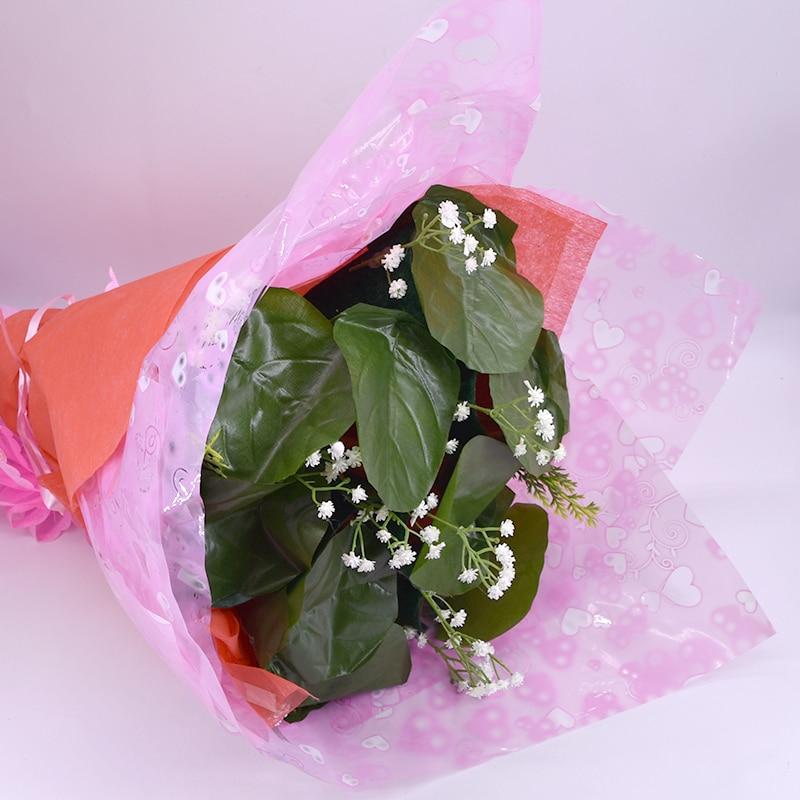 Bouquet fleuri/Rose-9 fleurs tours de magie pour amant scène mariage fête Illusion comédie mentalisme