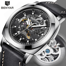 BENYAR Top Brand Watch Men Automatic Machinery Fashion
