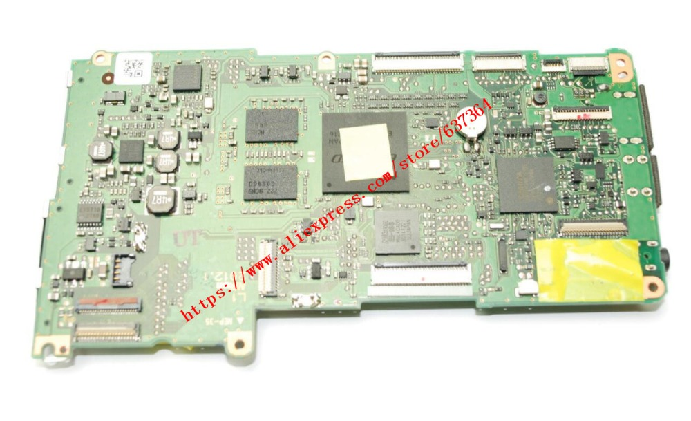 где купить 95%NEW original D600 motherboard for nikon D600 mainboard D600 main board dslr Camera repair parts по лучшей цене
