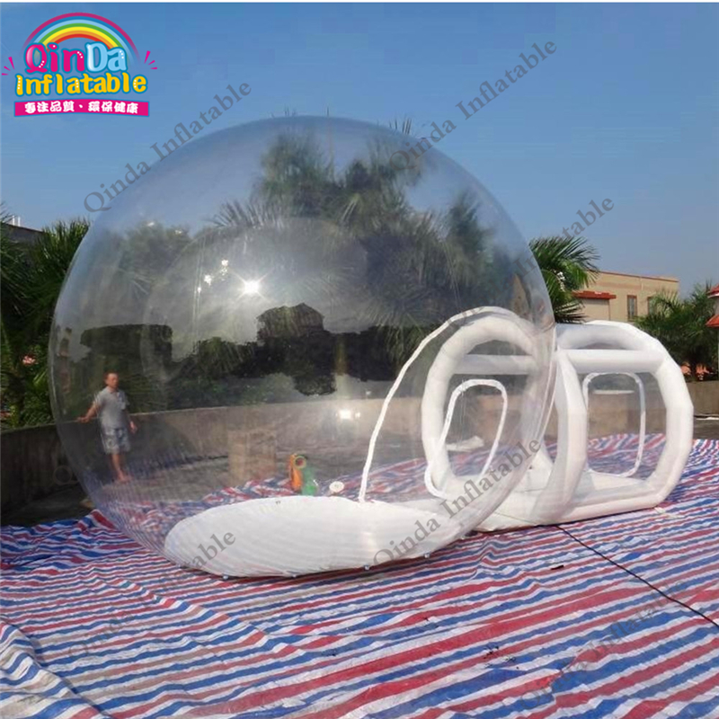 Factory price inflatable bubble camping tent, inflatable camping tent, inflatable transparent tent customized hot sale new wholesale factory price inflatable bubble tent for party camping