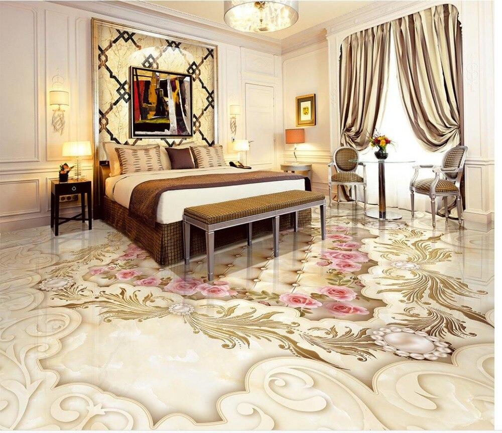 3d Boden Fur Wohnzimmer Us 19 53 29 Off Beibehang Custom Tapete 3d