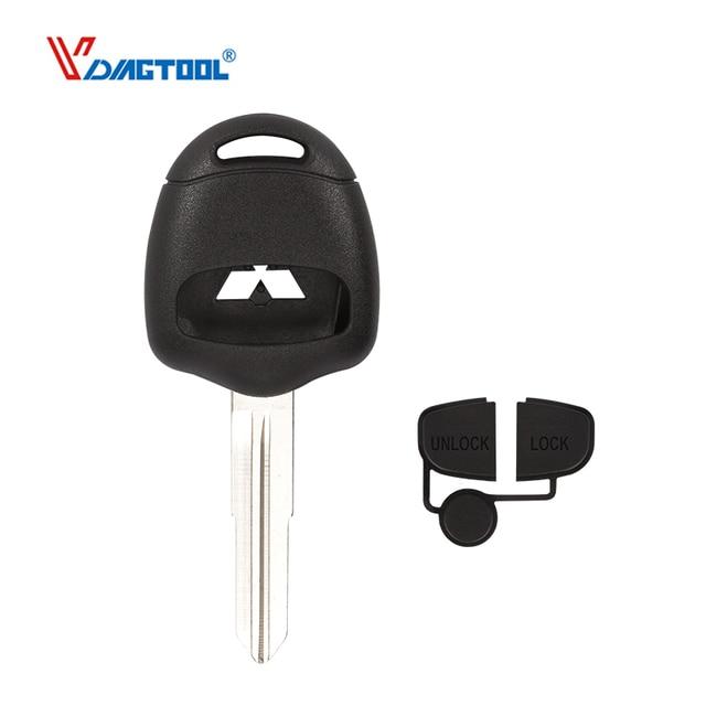 2 Button Transponder Car Key Remote Case Fob Cover Shell MIT11R Right Blade For Mitsubishi Lancer EX Evolution Grandis Outlander