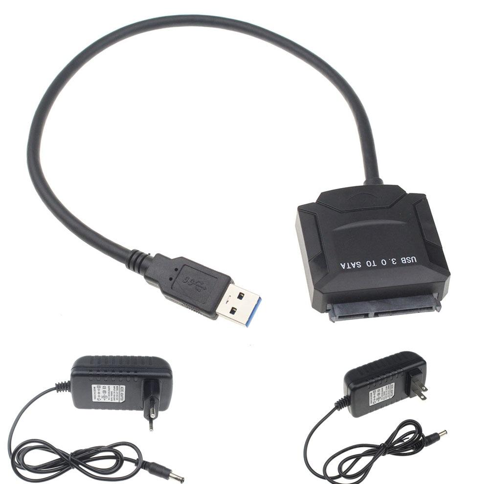 Alta Qualidade USB 3.0 Para SATA Cabo Adaptador Para 2.5