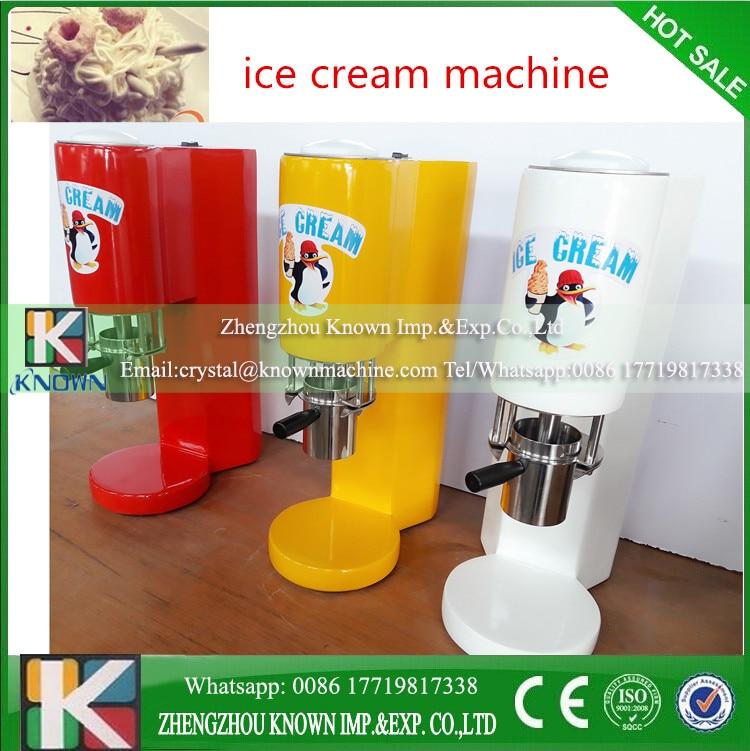 CE Different Styles Spaghetti Ice Cream Machine