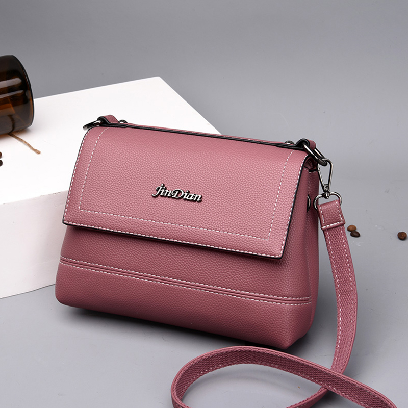 New Vintage Crossbody Bag For Women Casual PU Leather Flap Female Small Women 39 s Shoulder Bag Ladies Multifunction Shopping Bag in Shoulder Bags from Luggage amp Bags