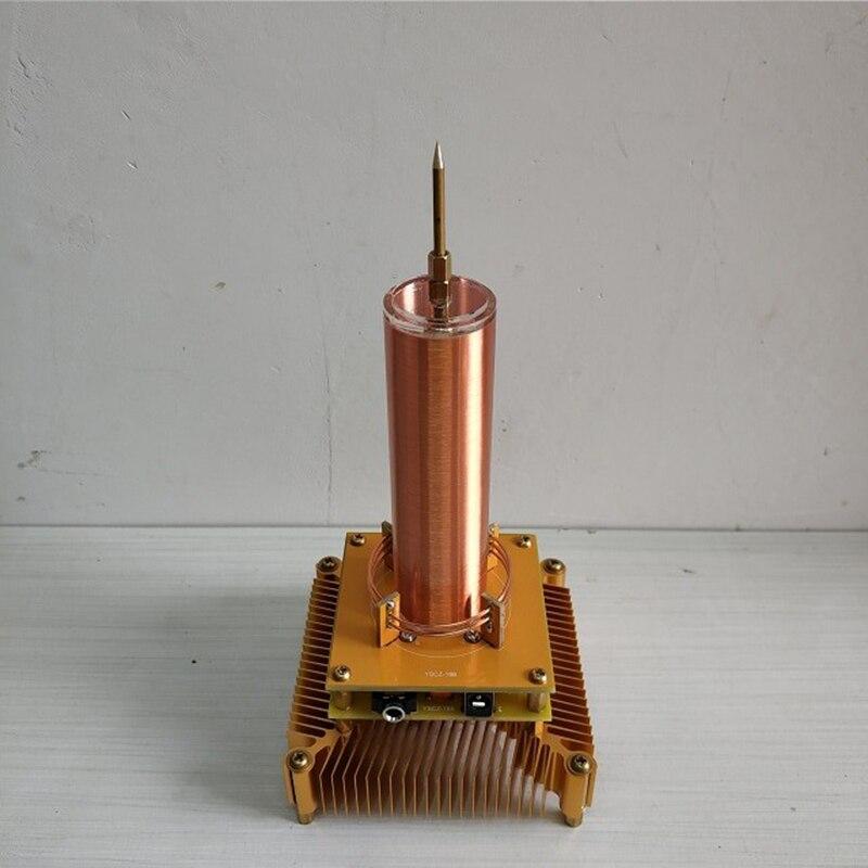 テスラコイル音楽を再生イオン風車花輪スペーサーランプワイヤレス伝送科学実験  グループ上の ツール からの カウンター の中 1