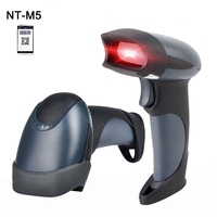 wholesale high quality M5 2D Wired Handheld USB Scanner QR Code Barcode Reader For Mobile Payment Computer Screen Scanner