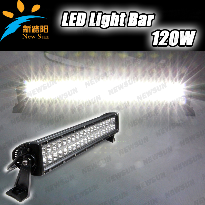 21.5inch 120W CREE chips double row led light bar for Jeep truck suv roof light IP67 led driving light super bright headlight