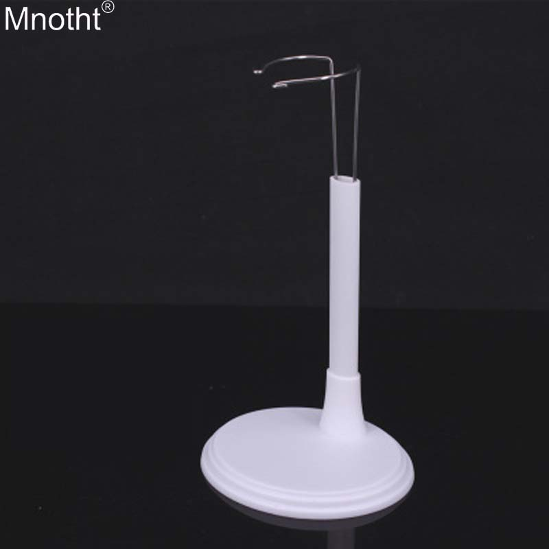 Mnotht 1/6 Plastic Stents Model Doll Puppet Stand Pinch Support Female Soldiers Model Toy for 12in Action Figure Collection Mb