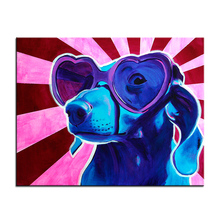 Cool Dachshund Canvas Print