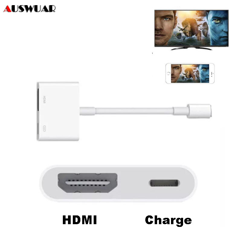 best sneakers d39e0 4dd66 US $15.69 |Charging HDMI Adapter for iPhone X 5 5S 6 7 8 Plux iPad HDMI  Adapter for iPhone to Digital AV HDMI Adapter 4K USB up to 1080P-in Phone  ...