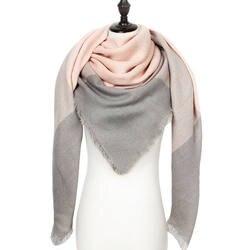 теплый кашемировый зимний шарф женский платок 2019 качество хорошее шерсть шарфы женские,модные плед шарфы платки палантины,большой шарф в