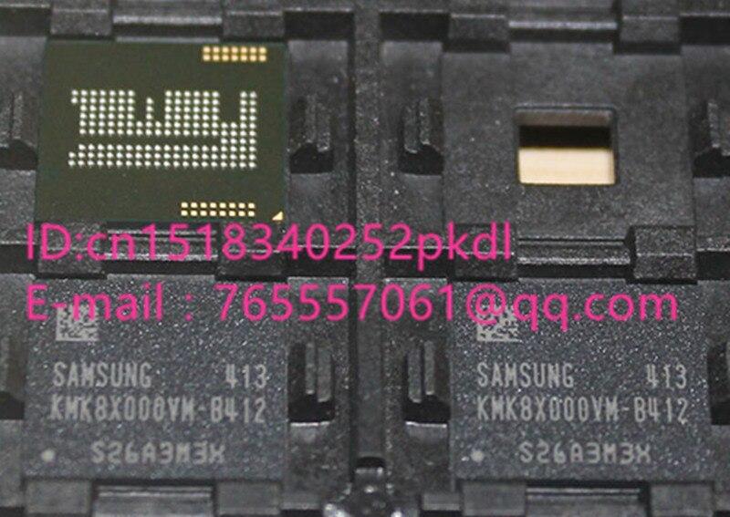 (1PCS) (2PCS) (5PCS) (10PCS)  100% New original  KMK8X000VM-B412  BGA   Memory chip   KMK8X000VM B412 1pcs 2pcs 5pcs 10pcs 100