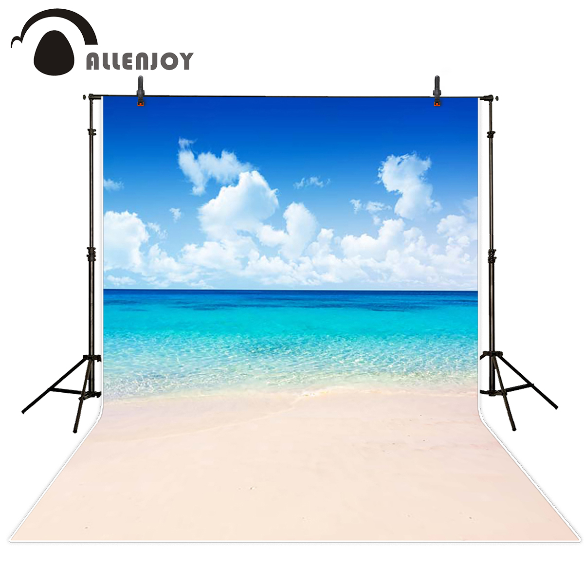 Allenjoy scenery photo backdrop Beautiful seawater cool and refreshing backgrounds for photo studio background vinyl цена
