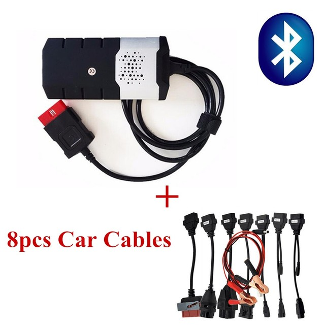 Big Sale 2015.2 Newest Software Vd Ds150e Cdp TCS CDP PRO PLUS for delphis New Vci Obd Obd2 Car Truck diagnostic tool +8 full car cables