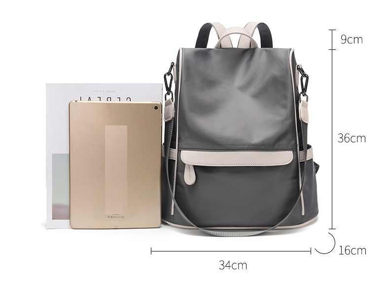 Yüksek kalite 2018 yeni moda yumuşak hakiki deri sırt çantası kadın marka bayanlar gençler için sırt çantaları kızlar rahat okul C710