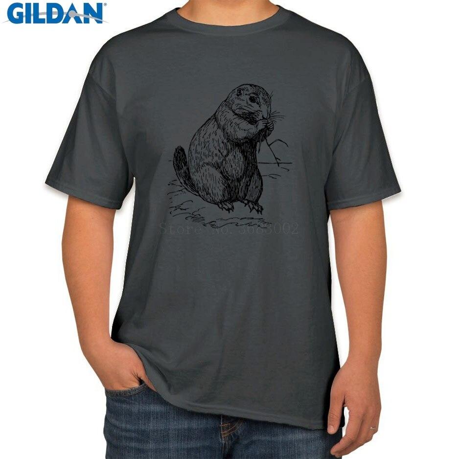 Printed The New T Shirt For Mens S 3xl Prairie Dog T Shirt