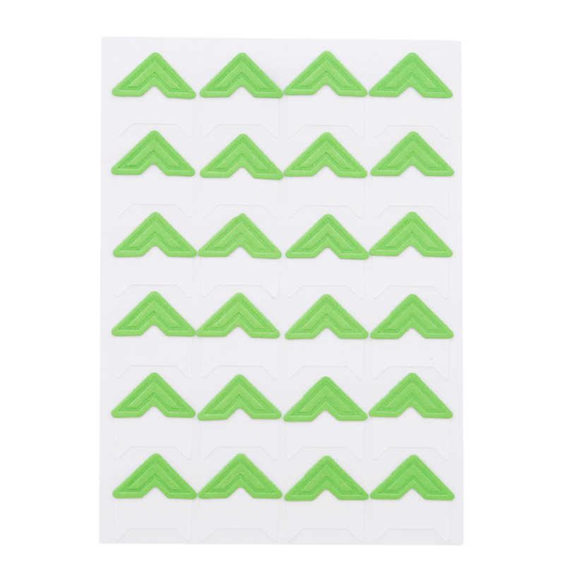 7 цветов однотонные DIY винтажные Угловые крафт-бумажные наклейки для фотоальбомов декорационный Скрапбукинг для рамки-