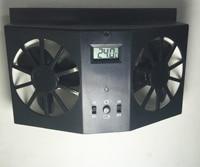 Without Battery Black Window Auto Ventilator Cooler Vent Rubber Car Ventilation Fan 12V Solar Sun Power