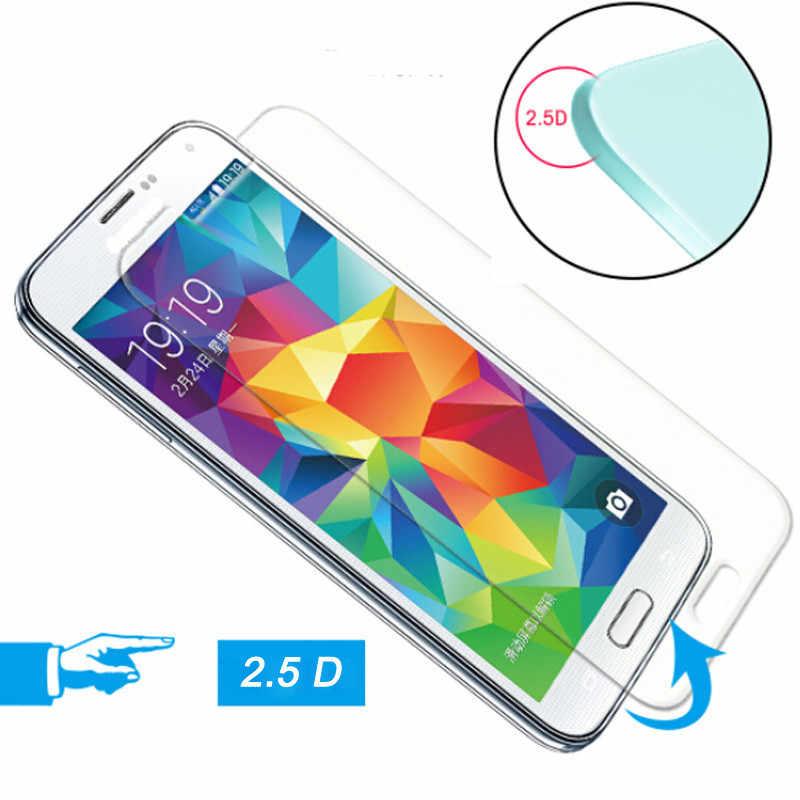 2 יח'\חבילה 9 H 2.5D מזג זכוכית עבור Samsung Galaxy S3 S4 S5 S6 S7 S8 מיני הערה 2 3 4 5 A3 A5 A7 J2 J5 ראש כיסוי סרט LCD
