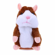 Talking Plush Educational Hamster Toy