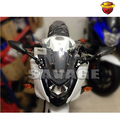 For Honda VFR 800F Interceptor 2014-2015 Motorcycle Adjustable Side Rearview Mirror with LED Turn Signal Light NEW