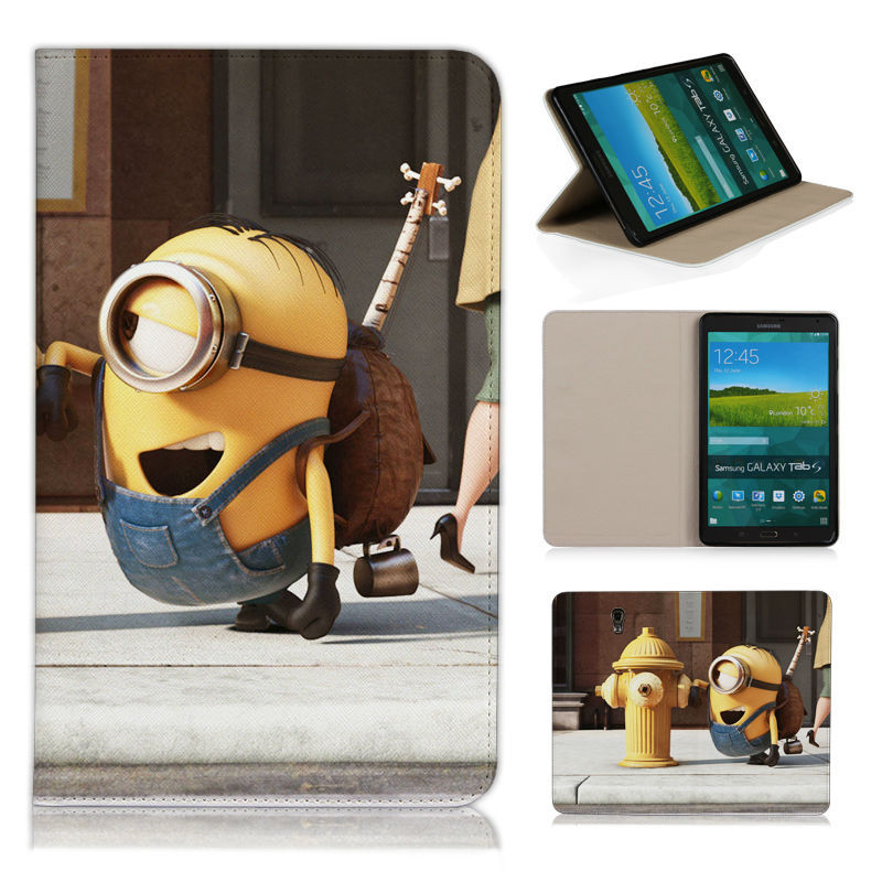 BTD Case for Samsung Galaxy Tab S 8.4 (SM-T700) Ultra Slim Stand Shell Cover for Galaxy Tab S Tablet Despicable Me 3