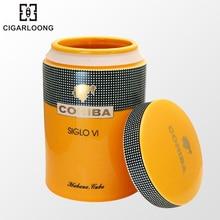 COHIBA cigar moisturizer tube large capacity ceramic moisturizing tank portable case GT-1007