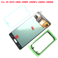 FIX2SAILING 100 Tested Working AMOLED LCD Display Touch Screen Assembly For Samsung Galaxy A5 2015 A500