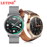 LETINE GW01 Men Women Sport Smart Watch Wearable Device Touch Clock Bluetooth Connectivity for iPhone Android Phone Amazfit
