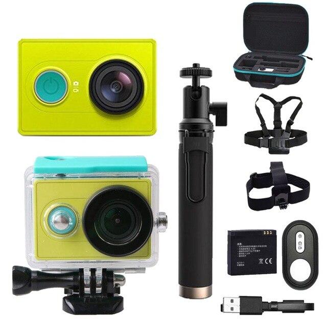 Оригинальная экшн-камера для xiaomi yi 1080р камера, делает 60 кадров в секунду с разрешением 16 МП, беспроводной Bluetooth 4.0 Смарт-Экстрим водонепроницаемая Спортивная камера