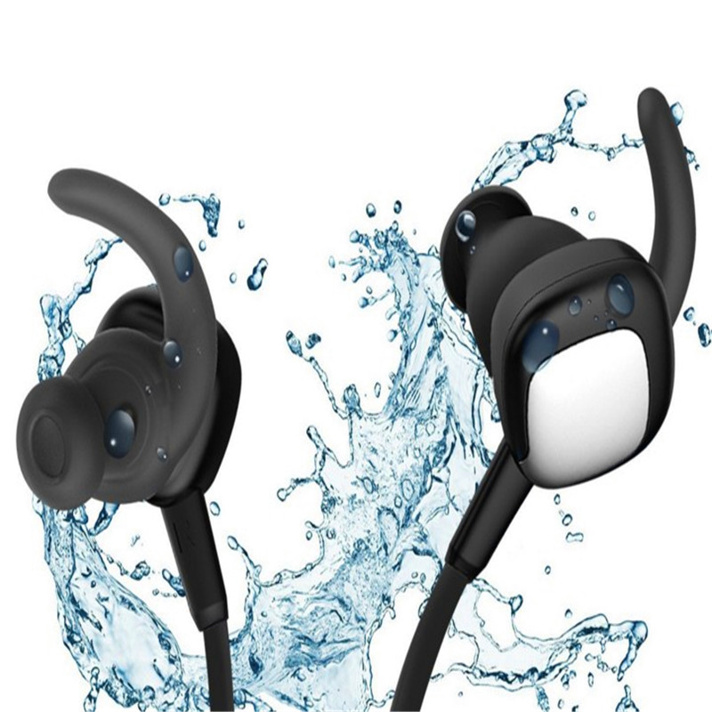 APT-x hifi fashion wireless neck hanging earbuds for sports with ACC high quality speaker units water sweat dirt proof