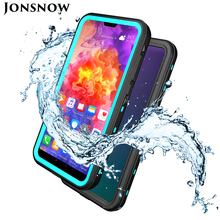 JONSNOW Waterproof Case for Huawei P20 Pro Swimming Diving Outdoor Shockproof 6.1 inch Full Protection