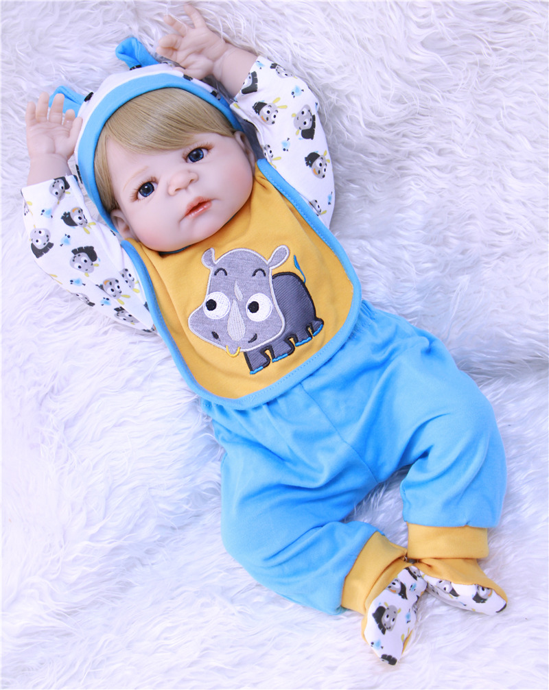 Boy doll reborn 23 full silicone reborn baby dolls NPK reborn babies for sale children fashion bebes reborn menino bonecas Boy doll reborn 23 full silicone reborn baby dolls NPK reborn babies for sale children fashion bebes reborn menino bonecas