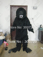 hot sale apes and monkeys mascot costume black ape onesies for adults gorilla mascot costumes