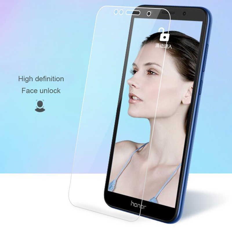 Vidrio templado transparente Ultra fino para Huawei Honor 7A 6C 7C Pro 9 8 10 Lite película protectora de pantalla para Huawei Y6 Y5 Y7 2018