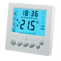 100 Good Feedback TFAEY 09 220VAC Remote Control Thermostat With Blacklight For Floor Heating Free Shipping