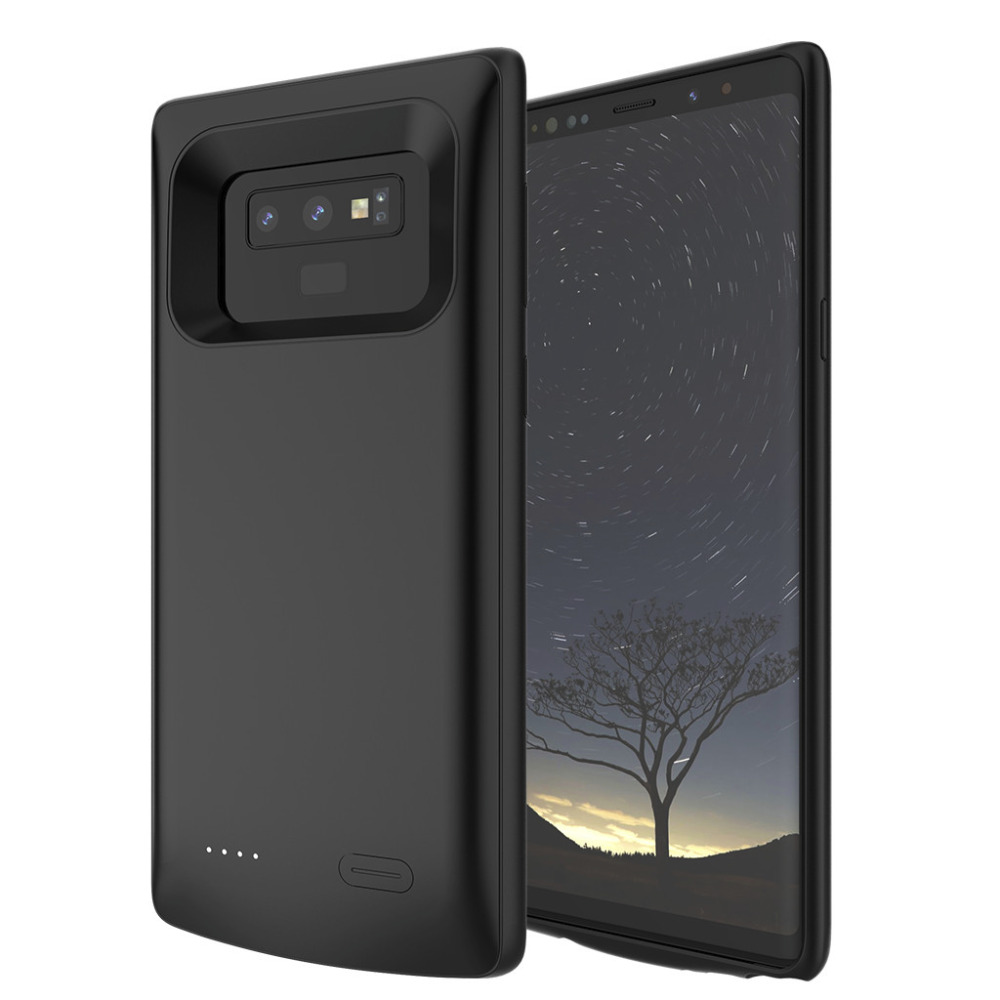 5000Mah Extended Battery Case Phone Charging Cover For Samsung Galaxy Note 9 Rechargeable Battery External Protective