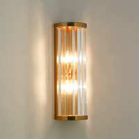 Luxury Gold Sconce Wall Lights Indoor Lighting Bedroom Bathroom Lighting Fixtures European Modern Stairs Lamp