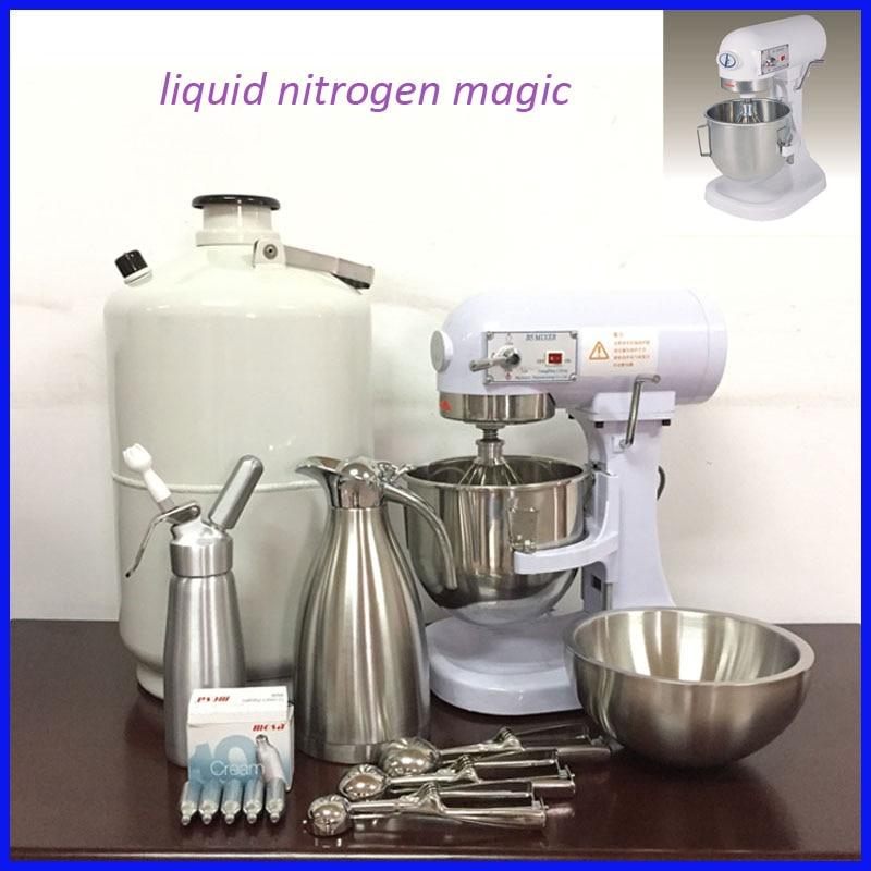 Easy To Operate Nitrogen Liquid Nitrogen Ice Cream Machine