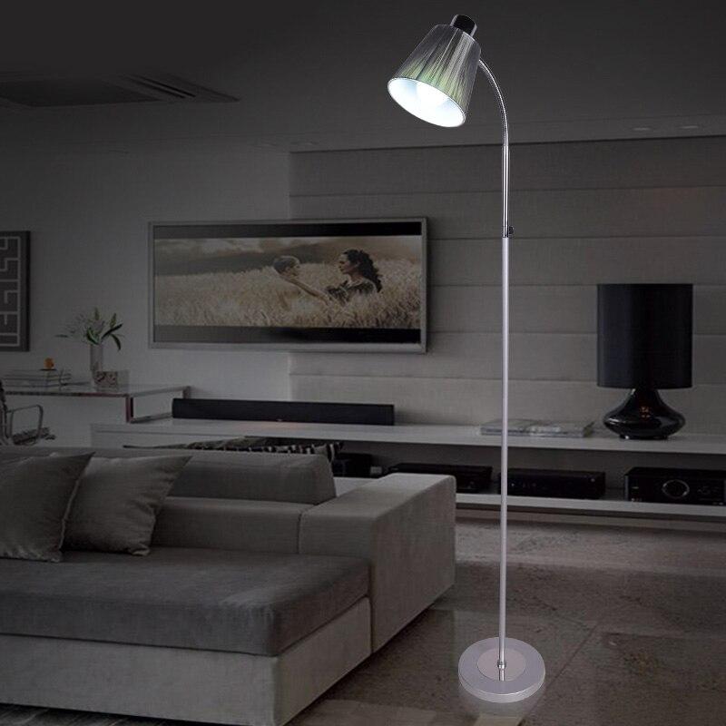 New Style Metal Body Modern Floor Lamp Light With E27 Bulbs Lambader For Living  Room Popular Floor Standing Reading Lights Buy Cheap Floor Standing  . Reading Lamps For Living Room. Home Design Ideas