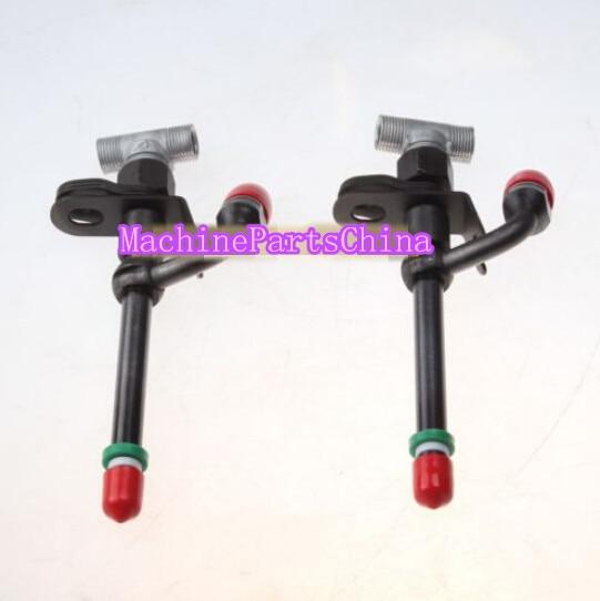 2 PCS Fuel Injectors Nozzle RE36935 For John Deere 6068D ENGINE 6068T 6506 6600 Free Shipping siku трактор john deere с пресс подборщиком