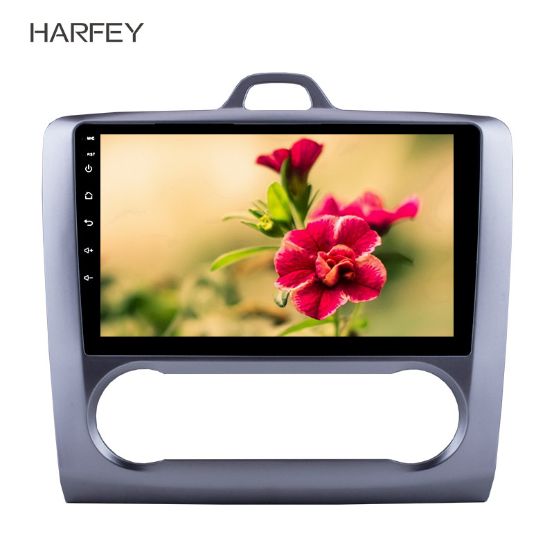 Harfey Android 8.1 GPS Navigation 9 HD Touchscrren for Ford Focus Exi AT 2004-2011 Radio with WIFI Bluetooth multimedia playerHarfey Android 8.1 GPS Navigation 9 HD Touchscrren for Ford Focus Exi AT 2004-2011 Radio with WIFI Bluetooth multimedia player