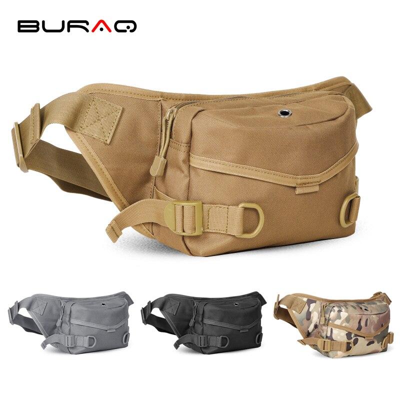 New multifunction Nylon Mens 600D Nylon Polyester Waist Packs Cool Unisex Travel Waist Bags funny chest pack men waist packT0213