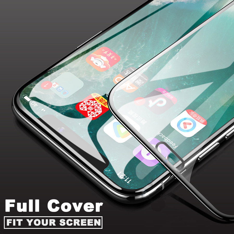 Image 3 - Full Cover Tempered Glass P20 Lite Glass For Huawei P20 Lite Plus Screen Protector P20Lite P 20 Protective Film Protection Glas-in Phone Screen Protectors from Cellphones & Telecommunications